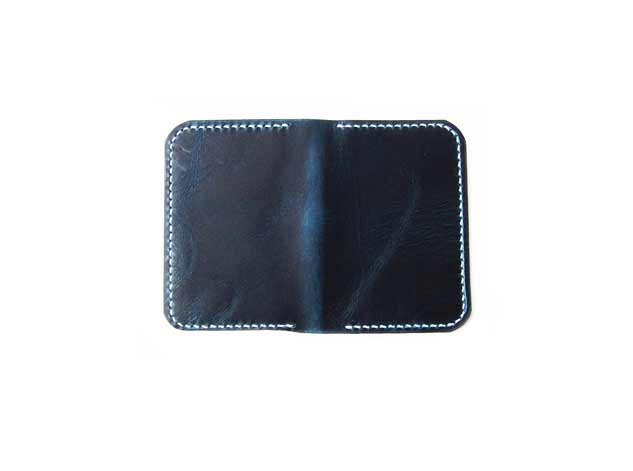 Waxy Veg Blue Wallet