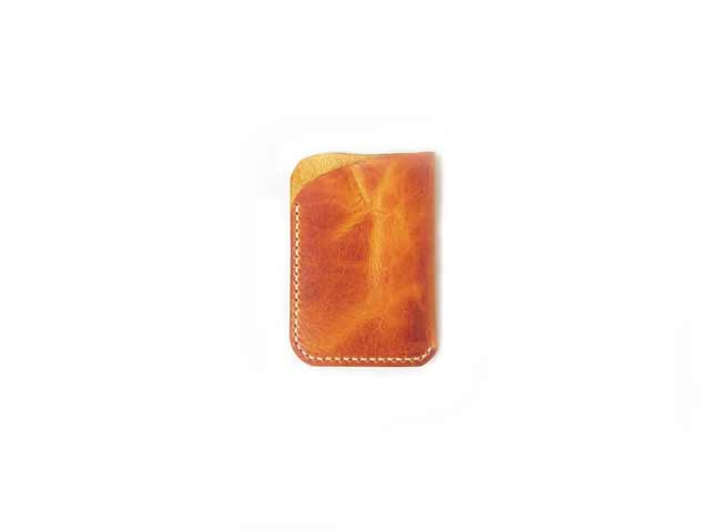 Waxy Veg Yellow Front Pocket Wallet