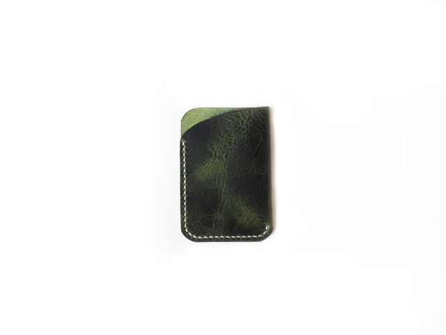 Waxy Veg Green Front Pocket Wallet