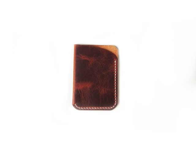 Waxy Veg Brown Front Pocket Wallet