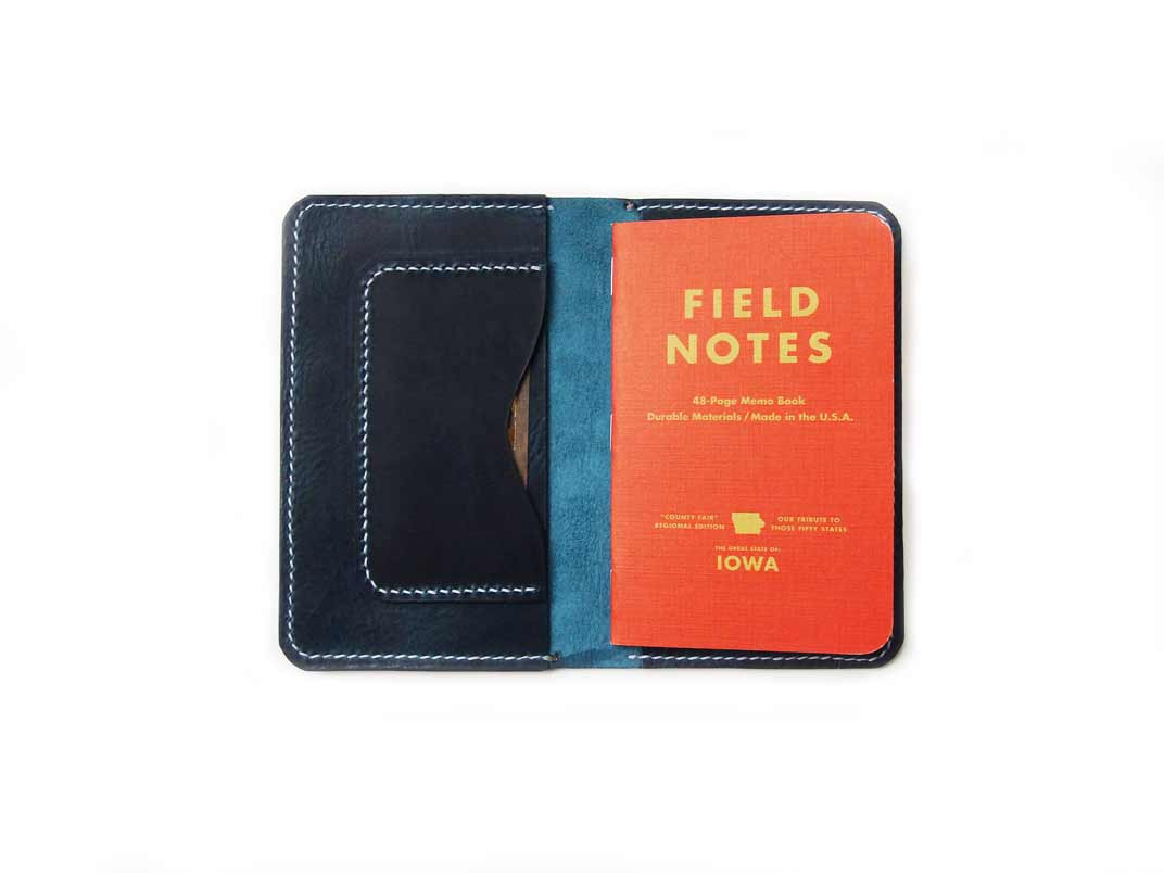 Blue Field Notes Cover