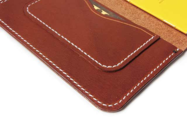 Buttero Brown Leather Field Notes Cover
