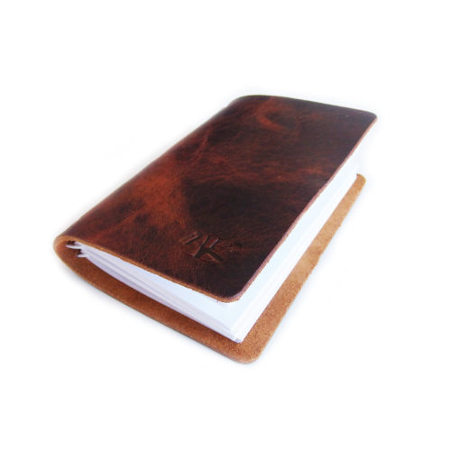 Medium Leather Notebook